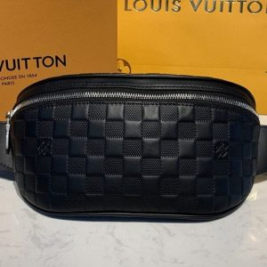 Replica Louis Vuitton N40298 LV Campus Bumbag bag in Damier Infini Leather