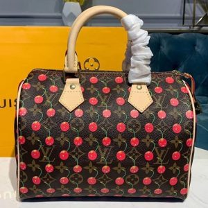 Replica Louis Vuitton M41108 LV Speedy 30 With Cherry Bags Monogram Canvas