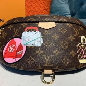 Replica Louis Vuitton M43644 LV Bumbag Bags Monogram Canvas My LV World Tour