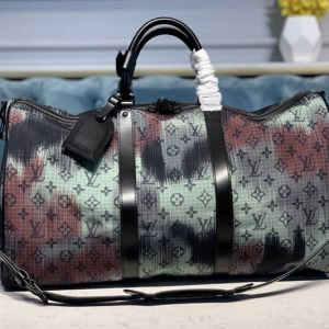 Replica Louis Vuitton M44166 LV Keepall Bandouliere 50 Bags in Monogram Denim