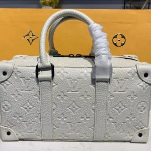 Replica Louis Vuitton M44483 LV Runway Bags 2020 Mens Bags White Taurillon leather