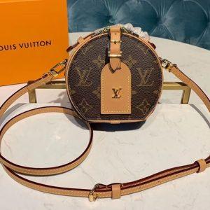 Replica Louis Vuitton M44699 LV Mini Boite Chapeau handbag Monogram Canvas