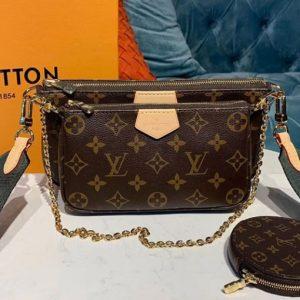 Replica Louis Vuitton M44823 LV Monogram canvas Favorite three-piece handbags