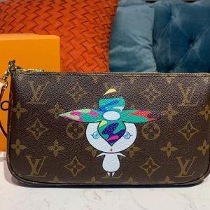 Replica Louis Vuitton M51980 LV Pochette Accessoires Bags Monogram Canvas