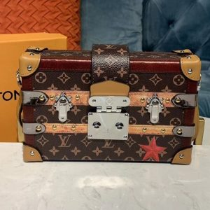 Replica Louis Vuitton M52737 LV Petite Malle Bags Monogram Canvas