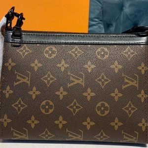 Replica Louis Vuitton M54330 Triangle Shaped Shoulder Bags Monogram Canvas