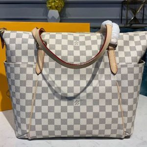 Replica Louis Vuitton M56689 LV Totally MM Bags Damier Azur Canvas