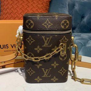 Replica Louis Vuitton M61112 LV Bucket Bag Monogram Canvas
