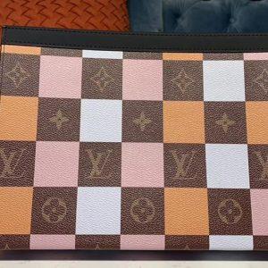 Replica Louis Vuitton M61692 LV Pochette Voyage MM Bags Monogram Canvas