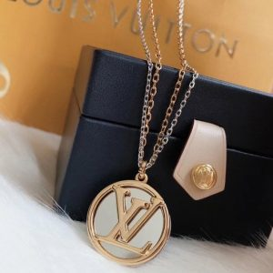 Replica Louis Vuitton M64281 LV Louise Long Necklace