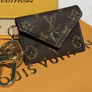 Replica Louis Vuitton M69003 LV Kirigami pouch bag charm and key holder in Monogram canvas