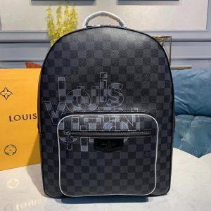 Replica Louis Vuitton N40199 LV Josh Backpack Damier Graphite canvas