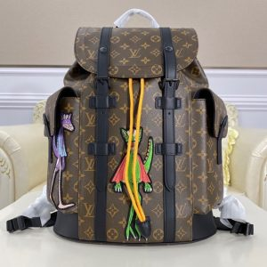 Replica Louis Vuitton M45617 LV Christopher Backpack in Monogram canvas