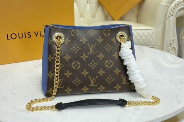 Replica Louis Vuitton M44299 LV Surene BB handbag in Monogram canvas and grained calf leather