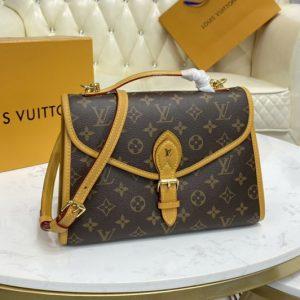 Replica Louis Vuitton M44918 LV Ivy Bag in Monogram coated canvas