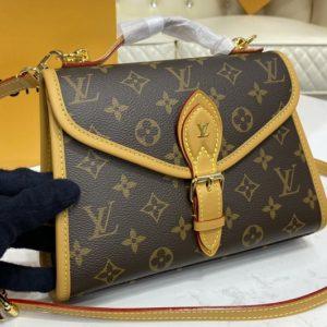 Replica Louis Vuitton M44919 LV Ivy Bag in Monogram coated canvas