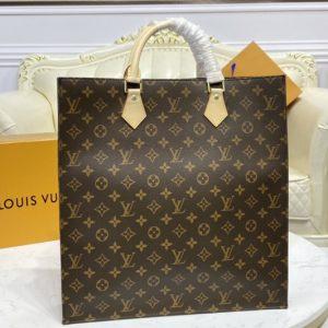Replica Louis Vuitton M51140 Sac Plat Bags in Monogram Canvas