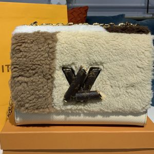 Replica Louis Vuitton M55450 LV Teddy Twist MM Bag in Epi Leather