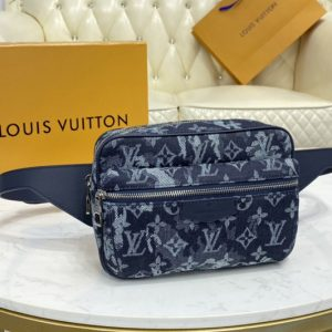 Replica Louis Vuitton M57281 LV Outdoor Bumbag bag in Monogram Tapestry coated canvas