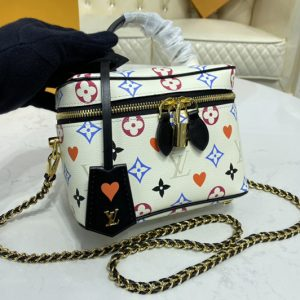 Replica Louis Vuitton M57458 LV Game On Vanity PM city bag in Transformed Game On Monogram Canvas