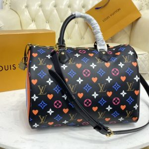 Replica Louis Vuitton M57465 LV Game On Speedy Bandoulière 30 Bag in Transformed Game On Monogram Canvas