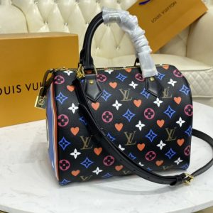 Replica Louis Vuitton M57466 LV Game On Speedy Bandoulière 25 Bag in Transformed Game On Monogram Canvas
