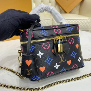 Replica Louis Vuitton M57482 LV Game On Vanity PM city bag in Transformed Game On Monogram Canvas