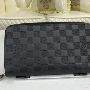 Replica Louis Vuitton N61254 LV Zippy XL Wallet In Damier Infini Leather