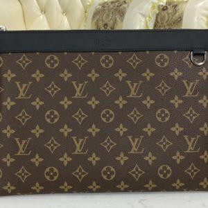 Replica Louis Vuitton M69411 LV Discovery pochette clutch in Monogram canvas