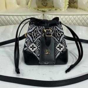 Replica Louis Vuitton M69973 LV Since 1854 Noé Purse bag in Jacquard Since 1854 textile