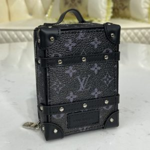 Replica Louis Vuitton M80221 LV Soft Trunk Backpack bag charm and key holder