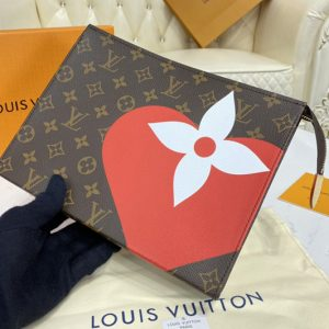 Replica Louis Vuitton M80282 LV Game On Toiletry Pouch 26 Bag in Game On Monogram canvas