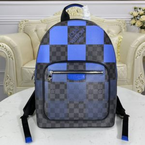 Replica Louis Vuitton N40402 LV Josh backpack in Damier Graphite Giant canvas