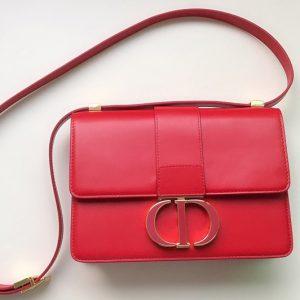 Replica Christian Dior M9203 Dior 30 Montaigne bag in Red Box Calfskin Leather