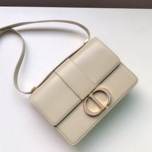 Replica Christian Dior M9203 Dior 30 Montaigne bag in Beige Box Calfskin Leather